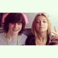 Happy 4 months Chandler and Hana <33 - chandler-riggs photo