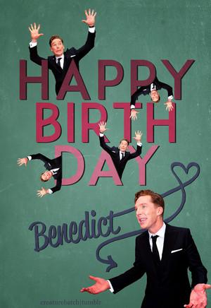 Happy Birthday Benedict!