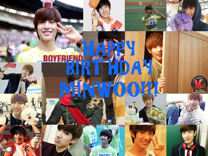 Happy Birthday Minwoo!!!