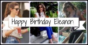 Happy birthday Eleanor!! ❤