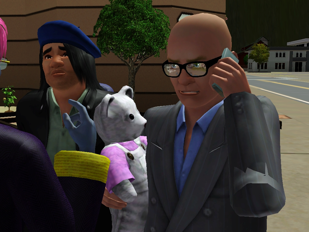 Harry Hill and the Knitted Character - The Sims 3 Photo (37369926) - Fanpop