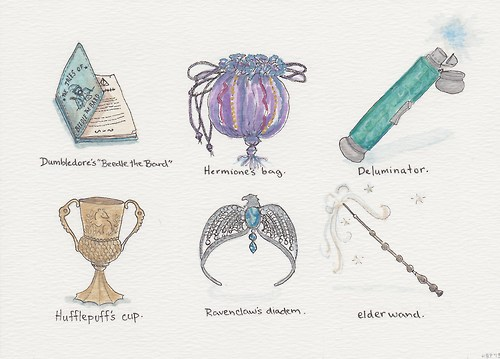 Harry Potter wallpaper titled Harry Potter Objects