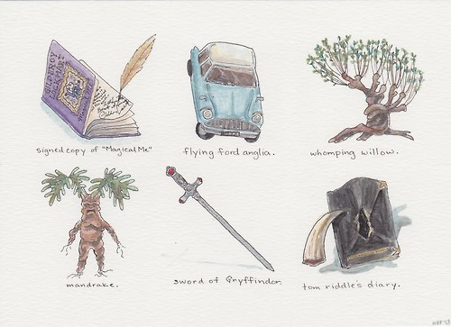 Harry Potter wallpaper called Harry Potter Objects