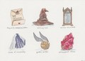 Harry Potter Objects - harry-potter fan art