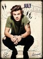 Harry styles ,calendar 2015 - one-direction photo