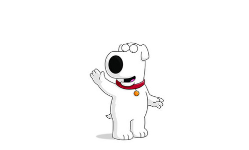 Brian Griffin پیپر وال probably with a paper towel and a coffee break called Hi. im Brian.