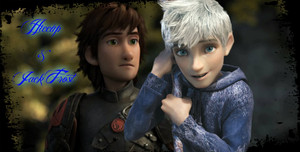 Hiccup and Jack Frost