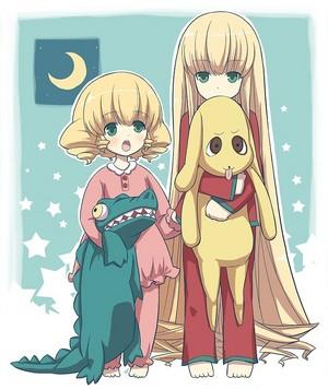 Hinaichigo and Shinku
