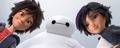 Hiro, Baymax and GoGo Tomago