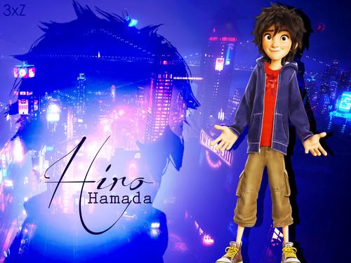 Big Hero 6 Hintergrund with a konzert called Hiro Hamada Hintergrund