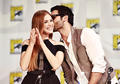 Holland Roden and Tyler Hoechlin