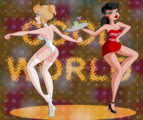 Cool World achtergrond probably with anime called Holli and Lonette