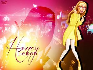 Honey Lemon Wallpaper