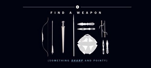 Hunger Games fond d'écran called How to Survive The Hunger Games | Find a Weapon