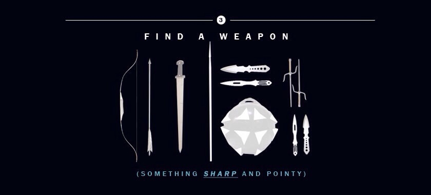 How to Survive The Hunger Games | Find a Weapon