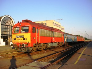 Hungarian trains