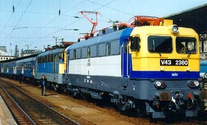 Hungarian trains