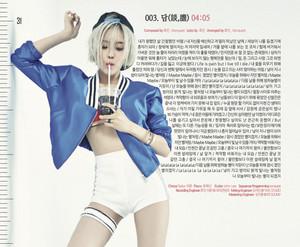 Hyomin - Make up digital booklet