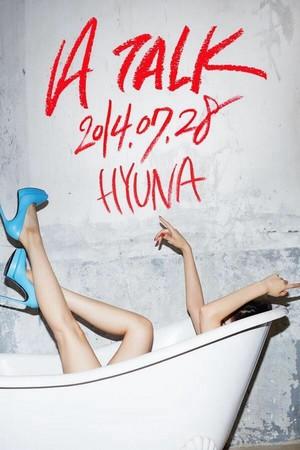 Hyuna 3rd Mini Album「A TALK」