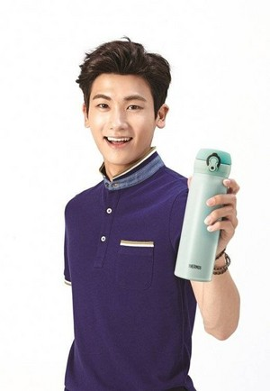 Hyungsik the new face of 'Thermos Korea'