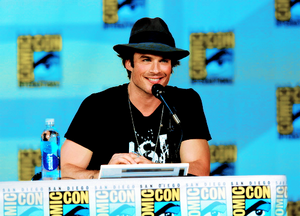 Ian Somerhalder Comic-Con 2014