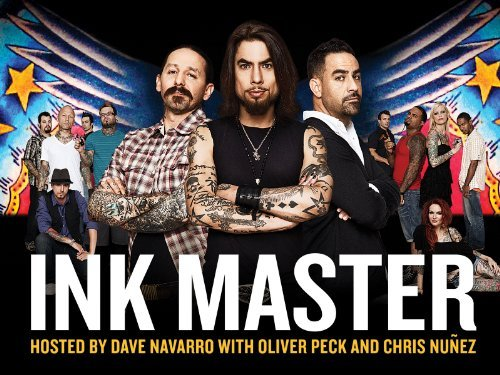 Ink Master wallpaper possibly containing a well dressed person, a concert, and animê called Ink Master | Season 1 Poster