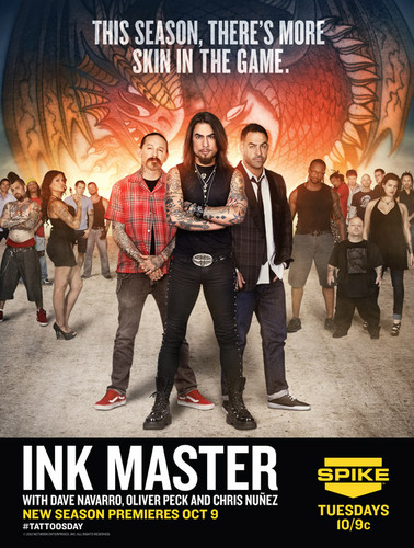 Ink Master wallpaper containing a show, concerto titled Ink Master | Season 2 Poster
