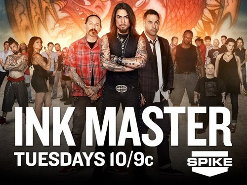 Ink Master wallpaper probably containing animê entitled Ink Master | Season 2 Poster
