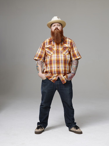 Ink Master wallpaper containing a snap brim hat, a fedora, and a boater entitled Ink Master | Season 5: Rivals | Jason Clay Dunn