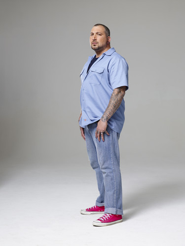 Ink Master wallpaper probably containing long trousers, a pantleg, calças, and calças compridas called Ink Master | Season 5: Rivals | Jayvo Scott