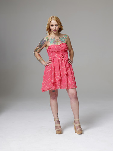 Ink Master wallpaper possibly with a chemise and a coquetel dress called Ink Master | Season 5: Rivals | Julia Carlson