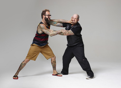 Ink Master wallpaper called Ink Master | Season 5: Rivals | Mark vs Ryan