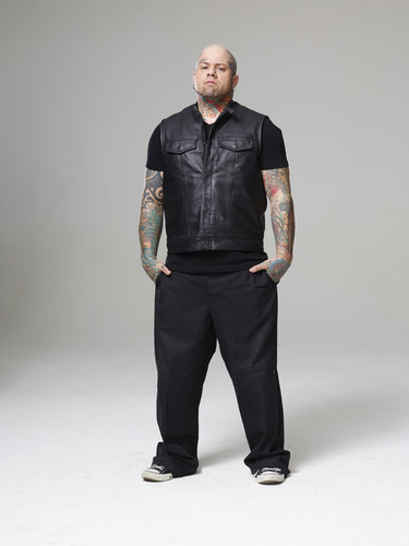 Ink Master wallpaper with a well dressed person, a legging, and a pantleg, calça called Ink Master | Season 5: Rivals | Ryan Eternal