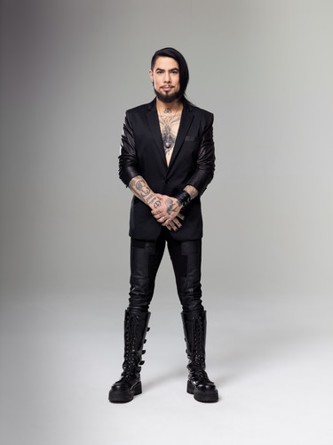 Ink Master wallpaper containing a well dressed person, a business suit, and a suit titled Ink Master | Season 5: Rivals | The Judges | Dave Navarro