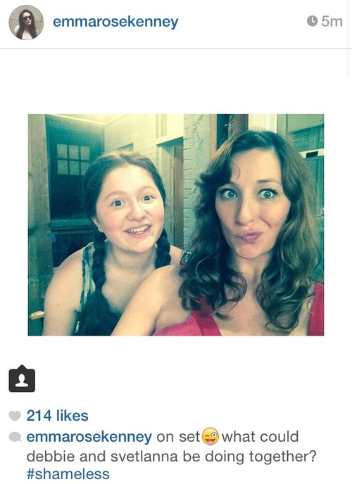 Isidora Goreshter and Emma Rose Kenney