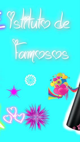 Violetta wallpaper entitled Istituto de famosos