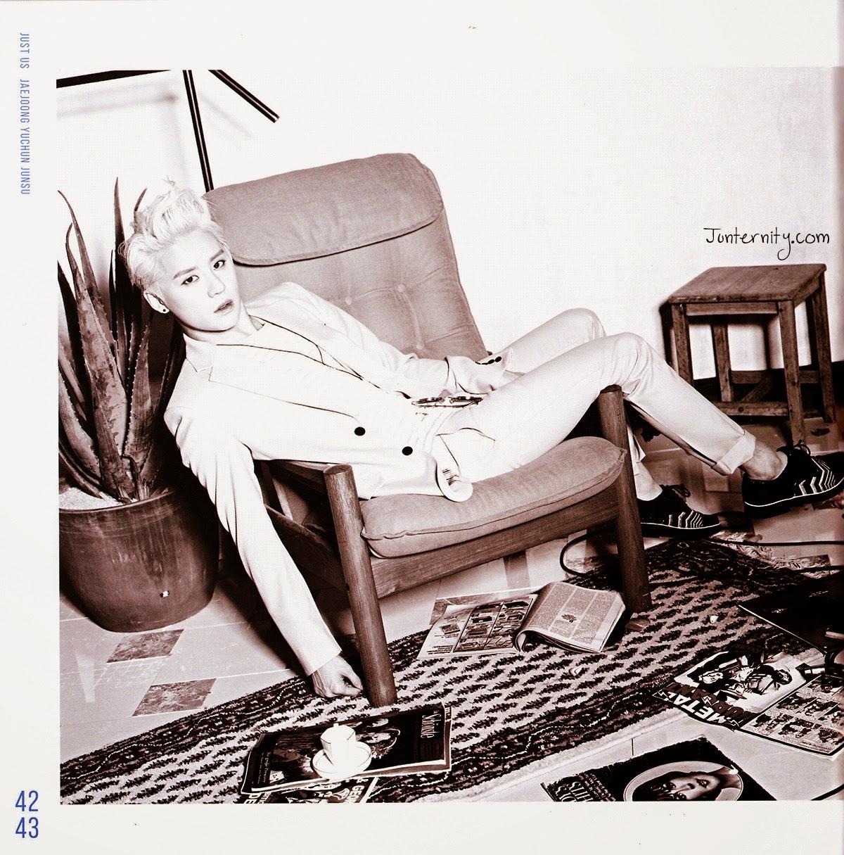 JYJ <JUST US> Album Photobook