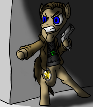Jack Bauer as a pony