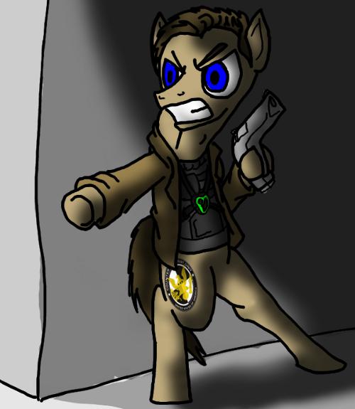 Jack Bauer as a pony