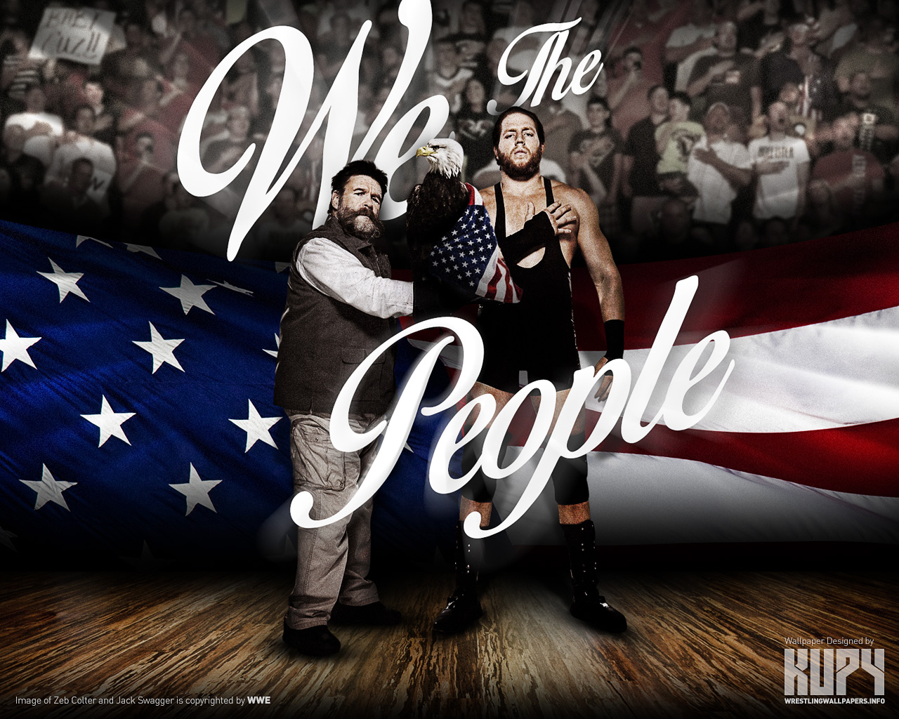 wwe images jack swagger and zeb colter we the people