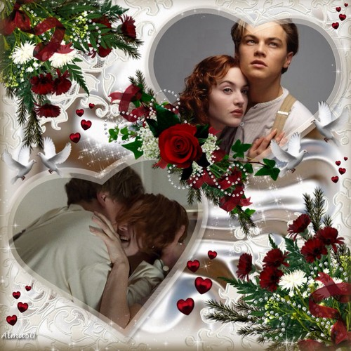 Jack and Rose wallpaper with a bouquet titled Jack and Rose