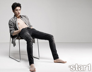 Jaejoong Covers @Star 1′s August 2014 Issue