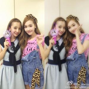 Jessica with একেবি৪৮ Itano Tomomi