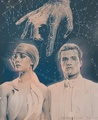 Johanna and Peeta - the-hunger-games fan art