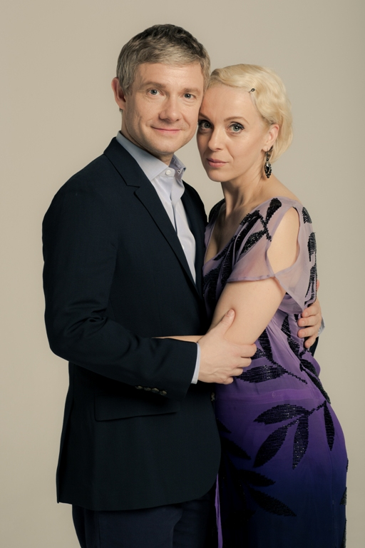 John Watson and Mary Morstan