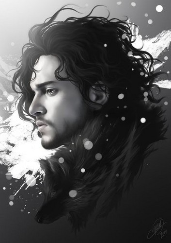 jon snow wallpaper possibly containing a fonte called Jon Snow (GOT)