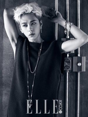 Junhyung 'ELLE' Magazine August Issue