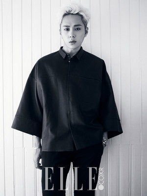 Junhyung 'ELLE' Magazine August Issue