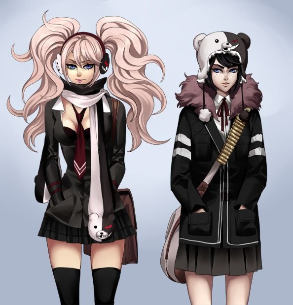 Related Keywords & Suggestions for junko and mukuro