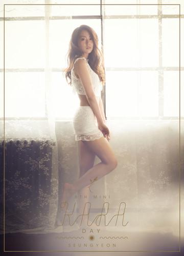 KARA 바탕화면 probably containing a 수영복 entitled KARA Seungyeon 'Day & Night' Teaser HQ